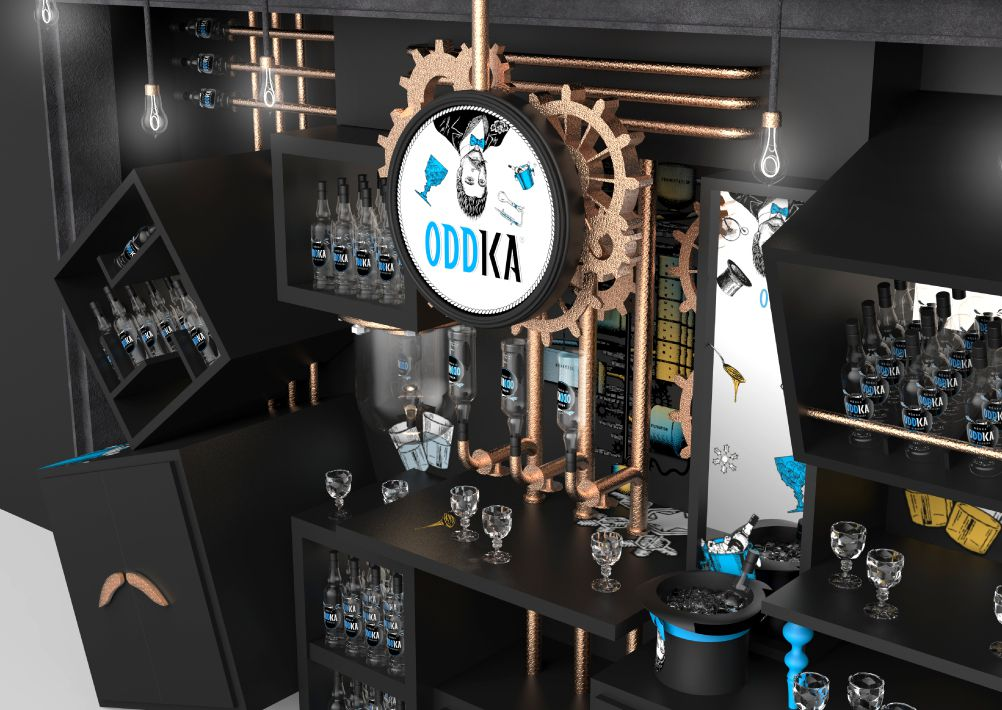 Oddka : La Vodka des Polish Men